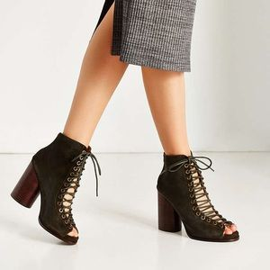 Jeffery Campbell Free Love Lace up